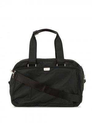 Дорожная сумка с закругленными ручками agnès b.. Цвет: черный