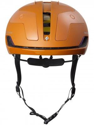 Велосипедный шлем Falconer II Aero Pas Normal Studios. Цвет: оранжевый