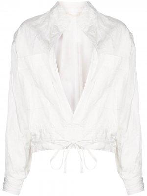 Куртка без застежки Jason Wu Collection. Цвет: нейтральные цвета