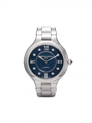Наручные часы Classics Delight Automatic 33 мм Frédérique Constant. Цвет: голубой