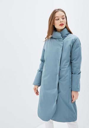 Куртка утепленная Sela. Цвет: бирюзовый