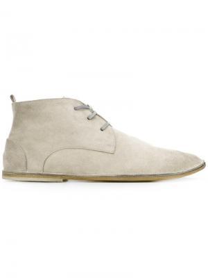 Ботинки дезерты Marsèll. Цвет: серый