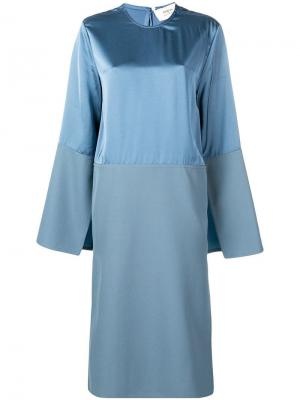 Side slit midi dress Ports 1961. Цвет: синий