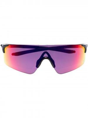 Солнцезащитные очки Prizm Road Evzero Blades Oakley. Цвет: черный