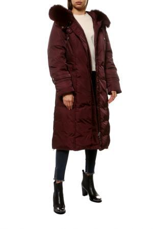 Куртка City Classic. Цвет: бордовый