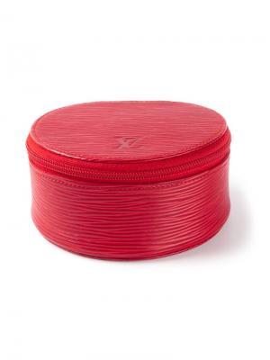 Коробочка для украшений Louis Vuitton Vintage. Цвет: красный