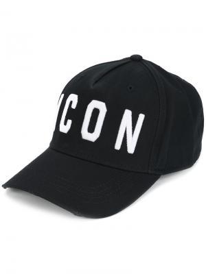 Бейсбольная кепка Icon Dsquared2. Цвет: черный
