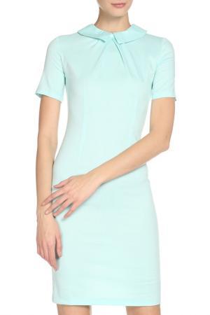 Платье Angela Ricci. Цвет: голубой
