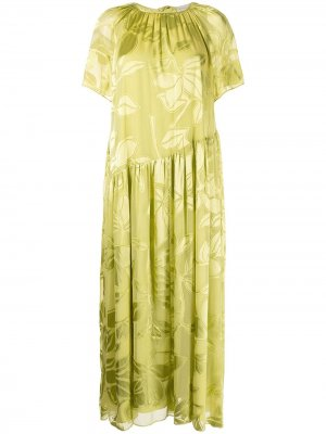 Платье макси Addyson Stine Goya. Цвет: зеленый
