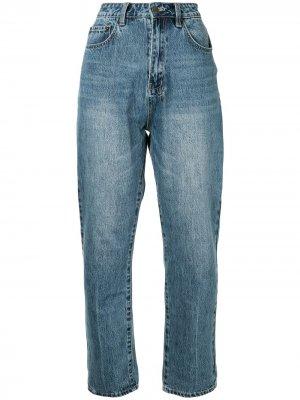Зауженные джинсы Chlo Wasted Ksubi. Цвет: синий