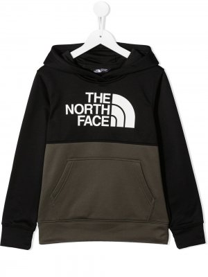Худи Surgent The North Face Kids. Цвет: зеленый