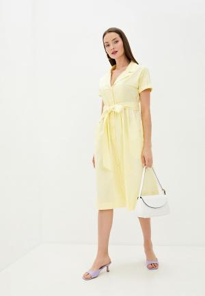 Платье Sweewe. Цвет: желтый