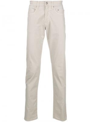 Прямые брюки Siviglia. Цвет: нейтральные цвета