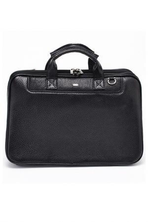 Портфель-сумка REFORM. Цвет: черный