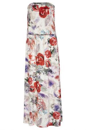 Платье из джерси Apart. Цвет: белый