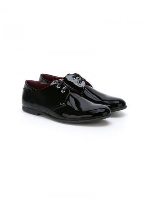 Лакированные туфли Dolce & Gabbana Kids. Цвет: черный