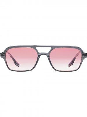 Солнцезащитные очки Kings в массивной оправе Gentle Monster. Цвет: розовый
