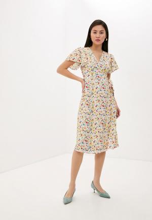 Платье Compania Fantastica. Цвет: бежевый