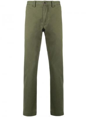 Брюки-чинос Polo Ralph Lauren. Цвет: зеленый
