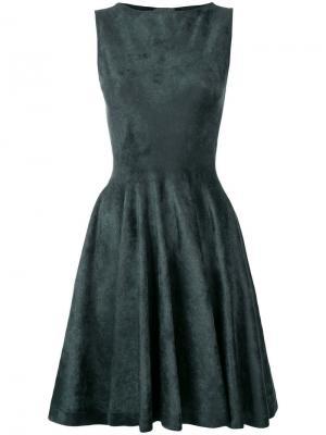 Приталенное платье Antonino Valenti. Цвет: зеленый