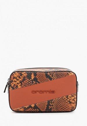 Сумка Cromia. Цвет: коричневый
