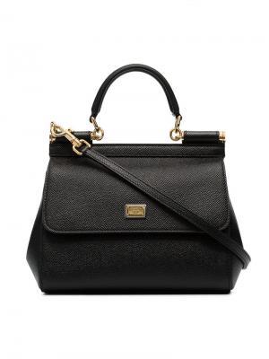 Маленькая сумка на плечо Sicily Dolce & Gabbana. Цвет: черный
