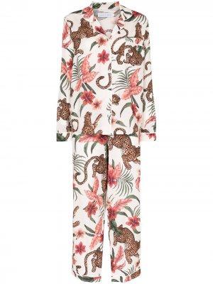 Пижама Soleia Desmond & Dempsey. Цвет: белый