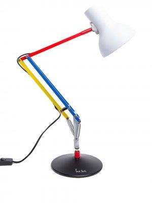 Настольная лампа в стиле колор-блок Anglepoise. Цвет: белый