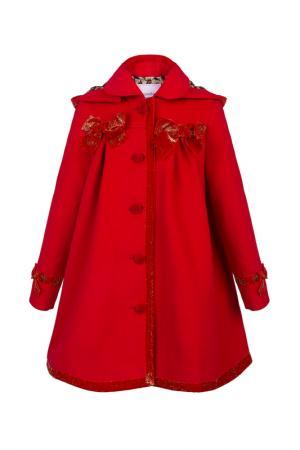 Пальто STILNYASHKA. Цвет: красный