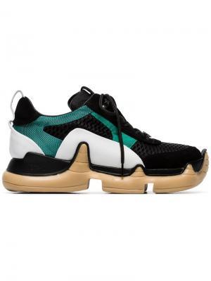 Кроссовки на массивной подошве Nitro SWEAR. Цвет: черный