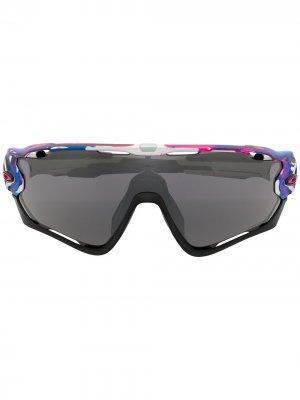 Солнцезащитные очки Jawbreaker Kokoro Collection Oakley. Цвет: розовый