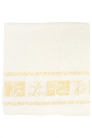 Полотенце махровое, 70х140 см BRIELLE. Цвет: кремовый
