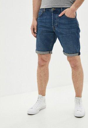Шорты джинсовые Lee. Цвет: синий