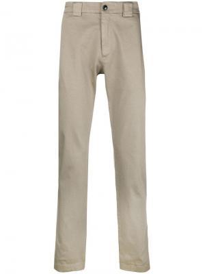 Базовые брюки-чинос C.P. Company. Цвет: нейтральные цвета