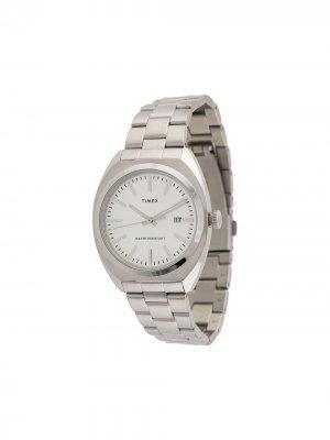 Наручные часы Milano XL 40 мм TIMEX. Цвет: серебристый
