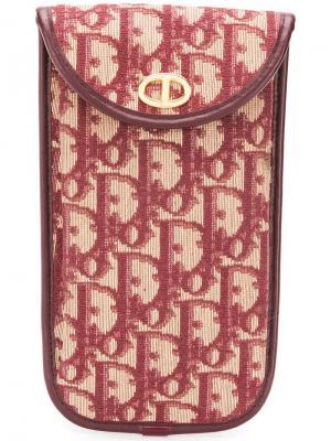 Чехол для телефона с монограммами Christian Dior Vintage. Цвет: фиолетовый
