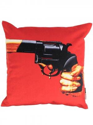 Диванная подушка Revolver Seletti. Цвет: красный