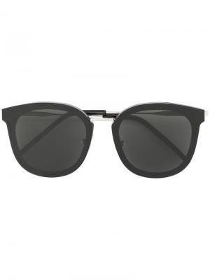 Солнцезащитные очки Mamabu Gentle Monster. Цвет: черный
