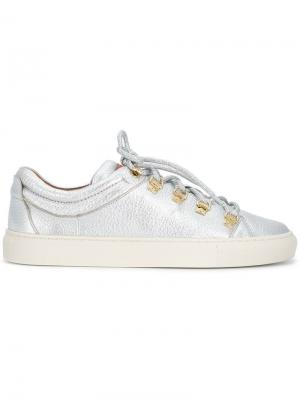 Heidy low-top sneakers Bally. Цвет: металлик