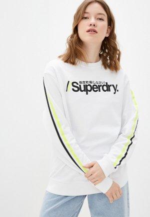 Свитшот Superdry. Цвет: белый