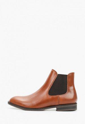 Ботинки Selected Homme. Цвет: коричневый