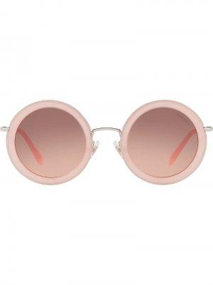 Солнцезащитные очки Délice Miu Eyewear. Цвет: розовый