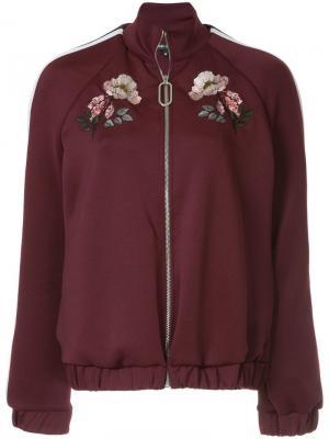 Maddy Flower Bloom jacket Markus Lupfer. Цвет: красный