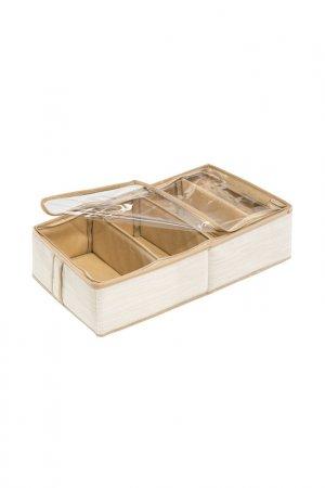 Органайзер для обуви, 4 ячейки CASY HOME. Цвет: белый