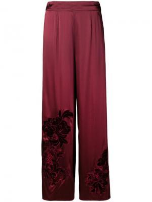 Пижамные брюки Primrose Hill Myla. Цвет: красный