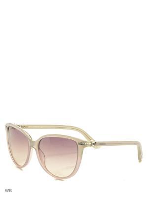 Солнцезащитные очки SK 0077 20Y Swarovski. Цвет: серый, сиреневый