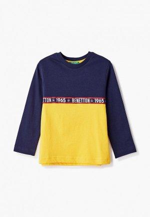 Лонгслив United Colors of Benetton. Цвет: разноцветный
