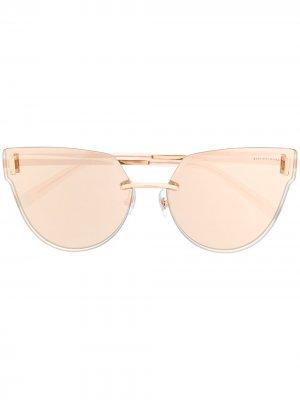 Солнцезащитные очки в оправе кошачий глаз Tiffany & Co Eyewear. Цвет: золотистый