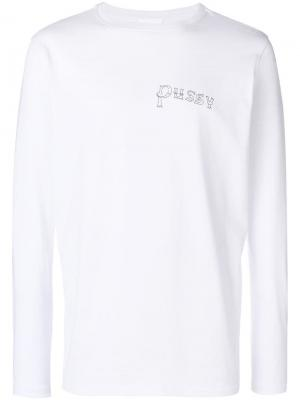 Pussy sweatshirt Soulland. Цвет: белый