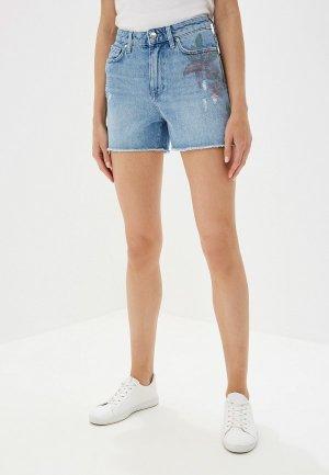 Шорты джинсовые Tommy Hilfiger. Цвет: голубой